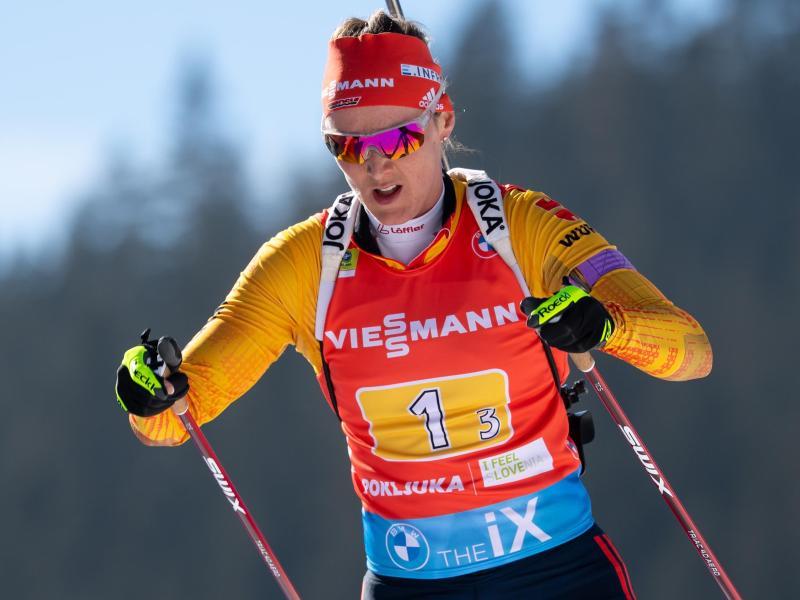 Denise Herrmann freut sich auf die Olympischen Winterspiele