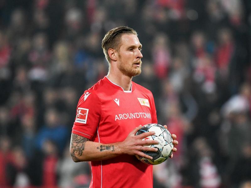 Sebastian Polter trug 2019 das Trikot des 1. FCUnion Berlin