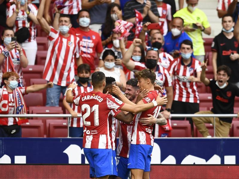 Atlético Madrid setzte sich gegen Elche durch