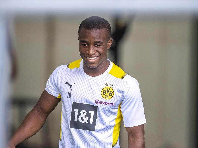 Moukoko steht im Kader der U21-Nationalmannschaft
