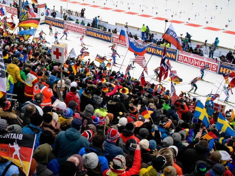 Beim Biathlon in Ruhpolding sollen wieder Zuschauer zugelassen werden