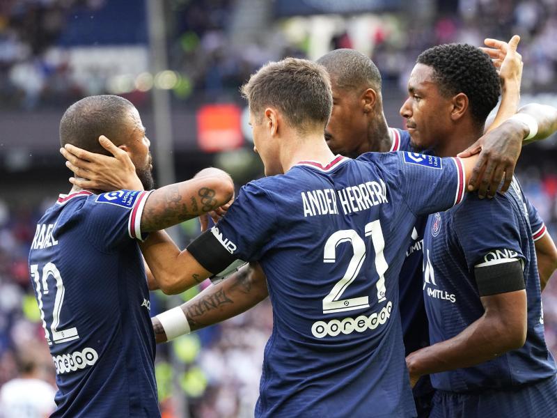 PSG setzte sich gegen Clermont Foot durch