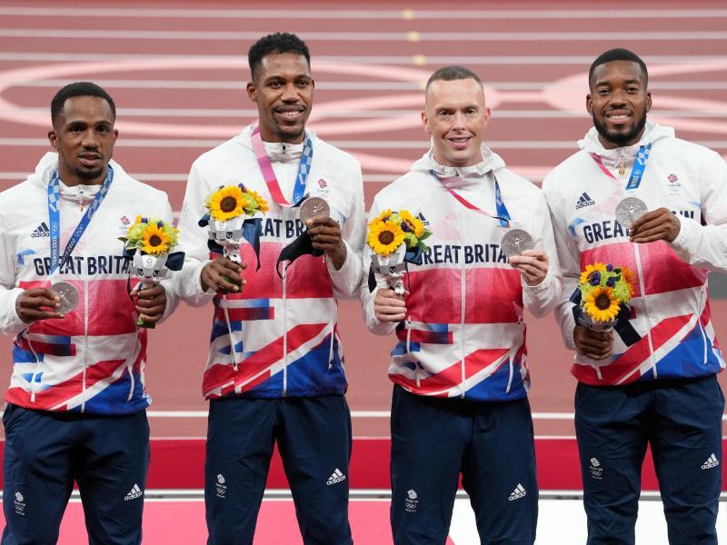 Verliert die britische Mannschaft ihre Medaille?