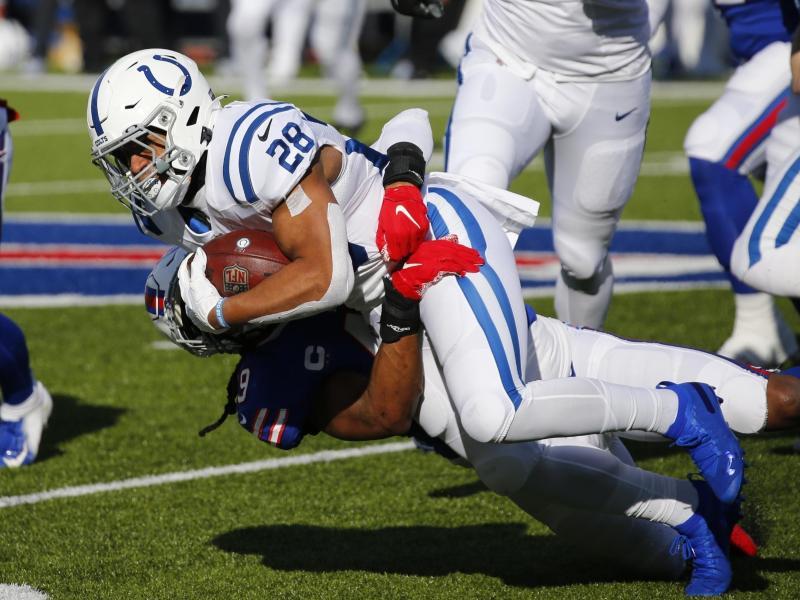 Die Indianapolis Colts um Jonathan Taylor (M.) werden Teil einer Doku-Serie
