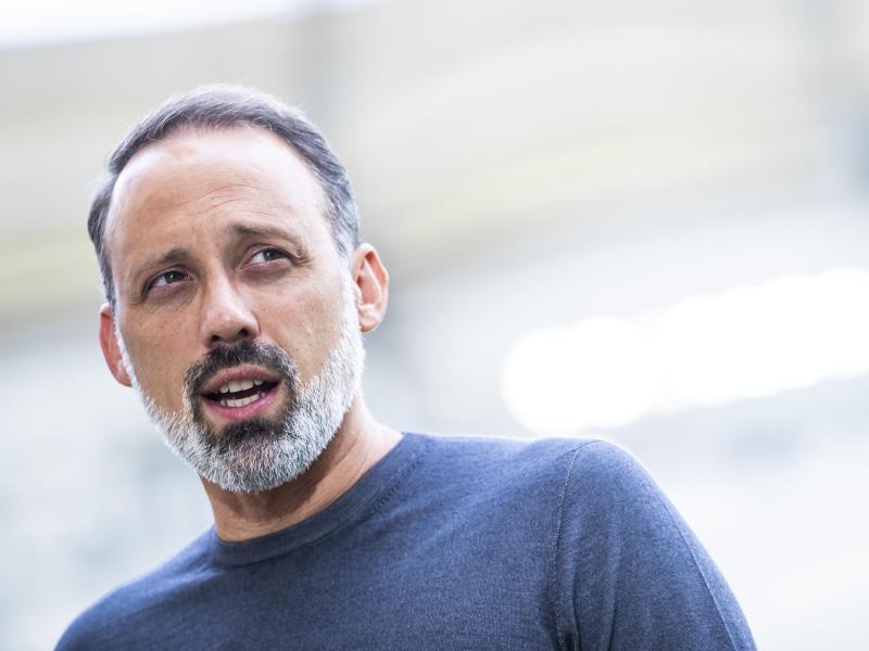 Stuttgarts Trainer Pellegrino Matarazzo bedauert den Abschied von Thomas Hitzlsperger
