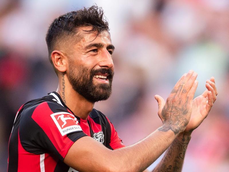 Kerem Demirbay spielt mit Leverkusen gegen die Bayern