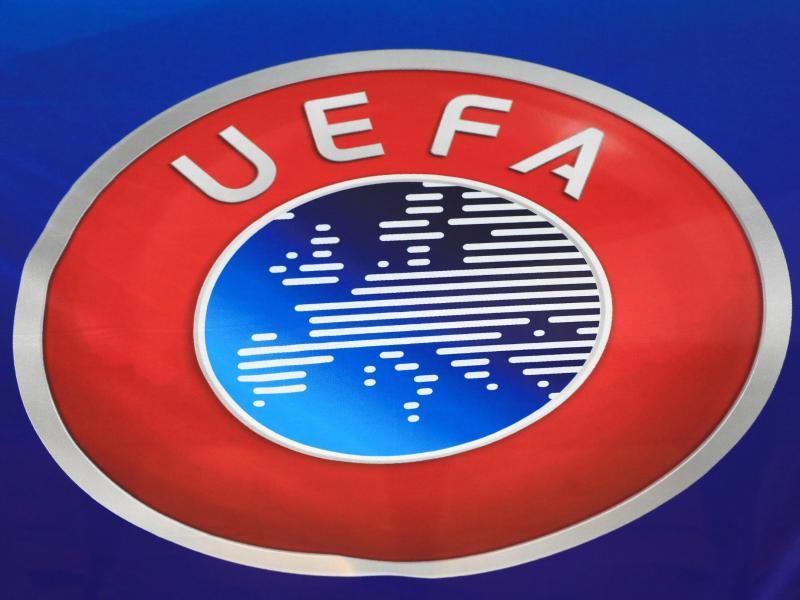 Das Logo der Europäischen Fußball-Union