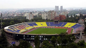 Partizan Stadion, Belgrad