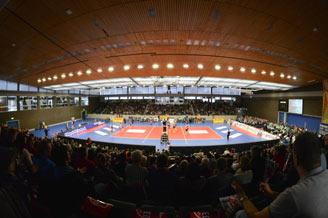 Großsporthalle Rüsselsheim
