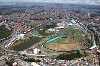 Autodromo Jose Carlos Pace, Interlagos, São Paulo