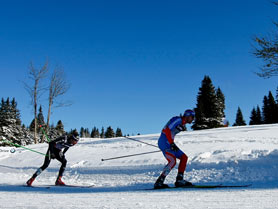 Canmore Nordic Centre Provincial Park, Canmore