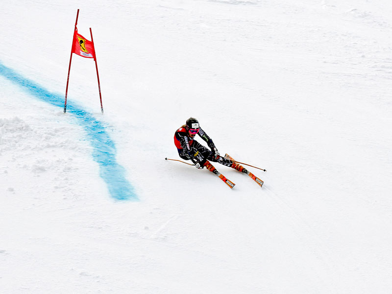 Weltcupabfahrt Franz Klammer