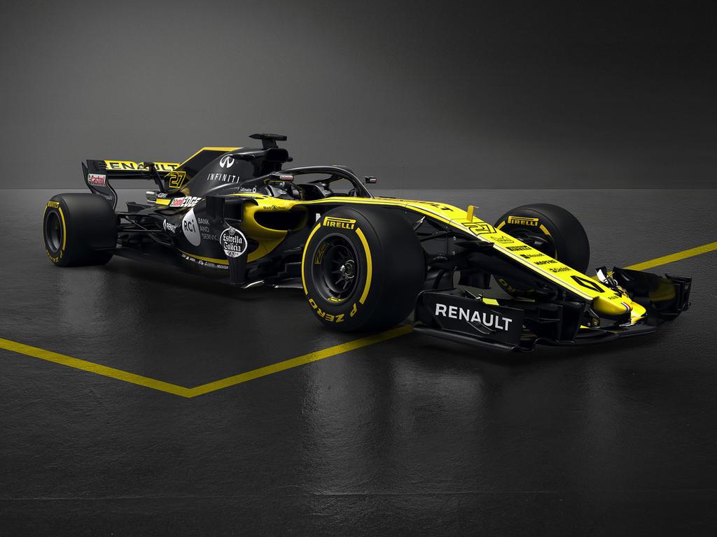 Der neue R.S.18 besticht durch seine gelbe Lackierung (Bildquelle: Renault)