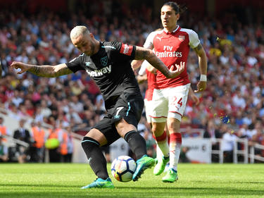 Marko Arnautović erzielte den Ehrentreffer für West Ham. © Getty Images/Mike Hewitt