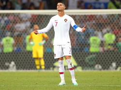 Cristiano Ronaldo scheiterte mit Portugal an Uruguay