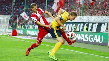 Der 1. FC Kaiserslautern und Fortuna Köln lieferten sich eine packende Partie