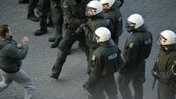 Die Polizei musste in Mönchengladbach eingreifen