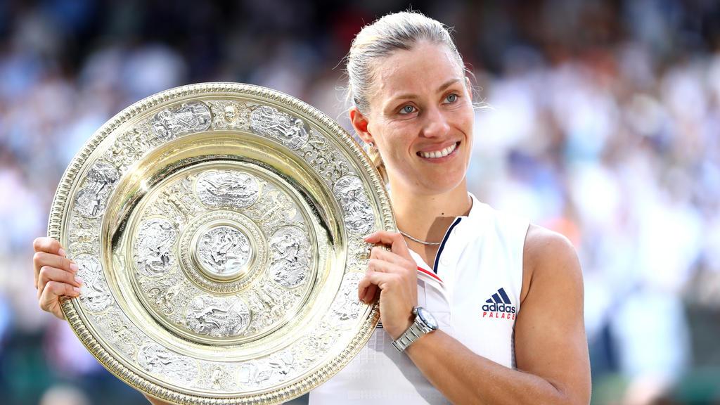 Angelique Kerber gewann 2018 Wimbledon
