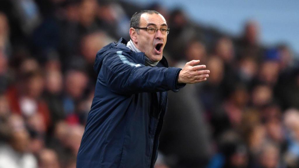 Maurizio Sarri ist seit dem Sommer Trainer beim FC Chelsea