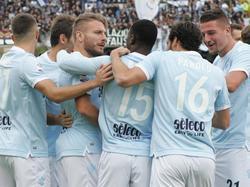 El Lazio suma otra ronda en la Coppa de Italia. (Foto: Imago)