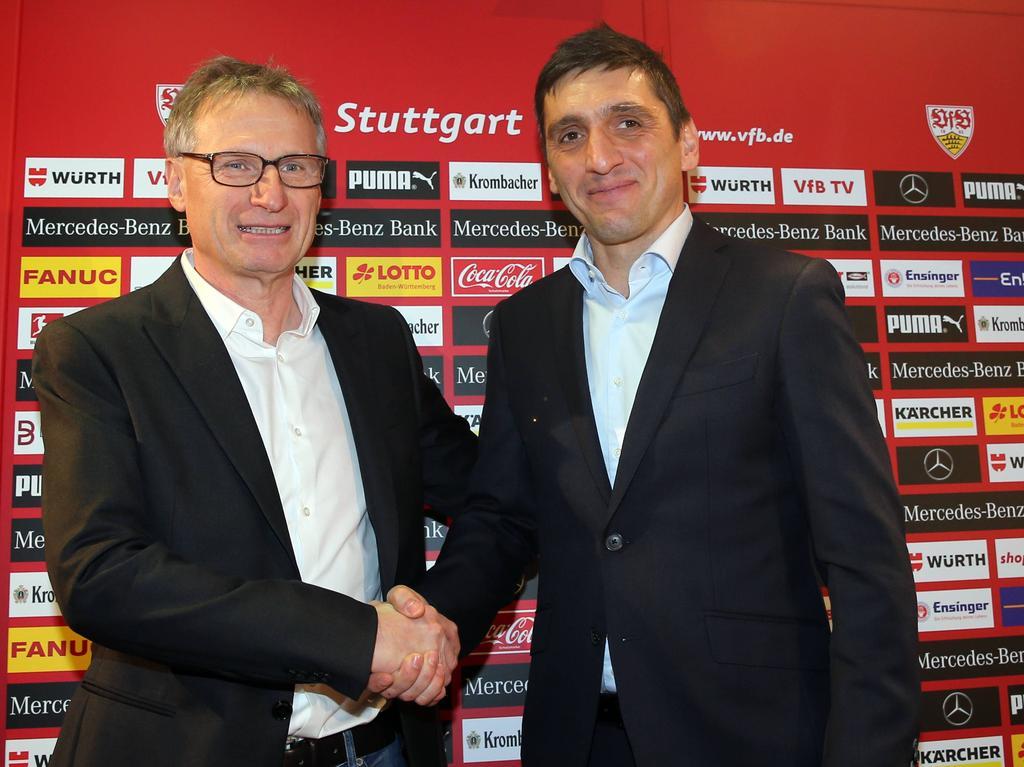 Tayfun Korkut übernimmt den VfB Stuttgart