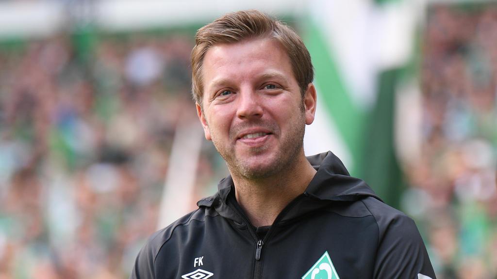 Werder-Trainer Florian Kohfeldt sieht bei den Innenverteidigern eher keinen Handlungsbedarf