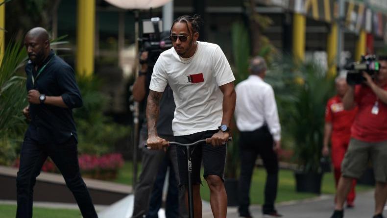 Lewis Hamilton geht immer ans Limit