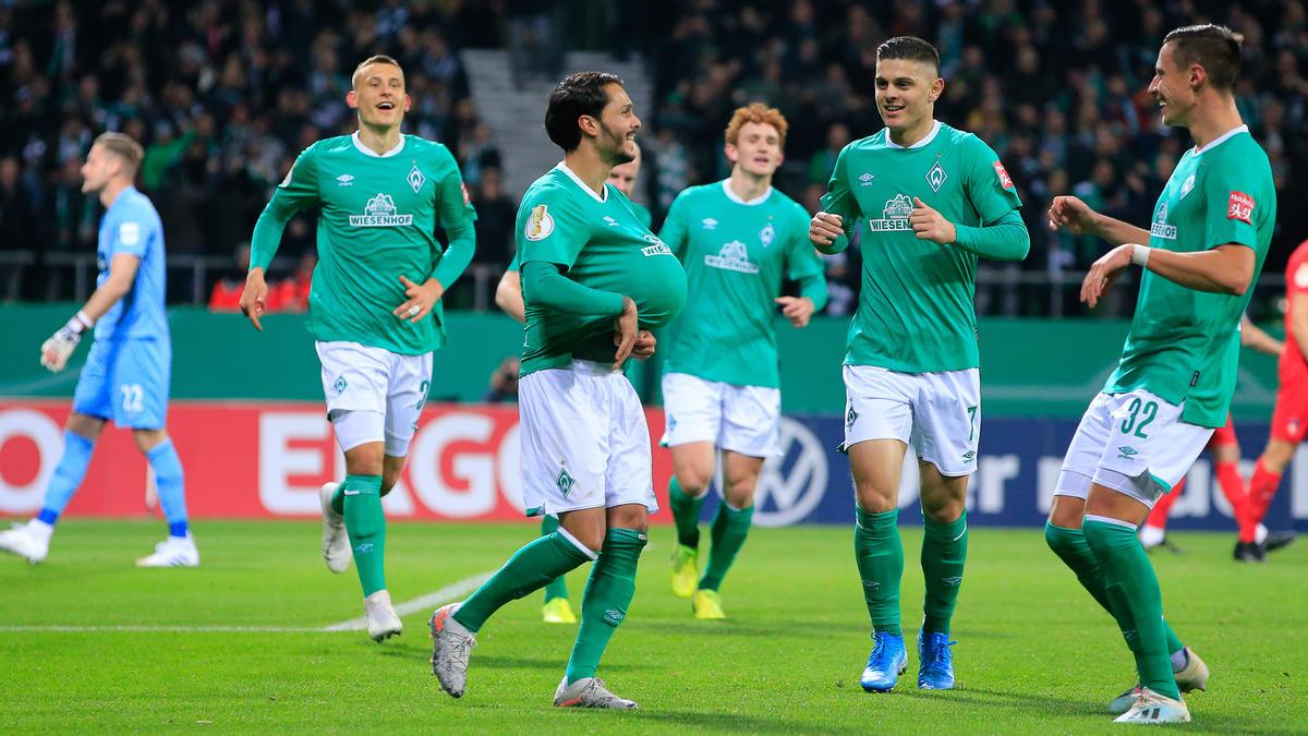 Werder Bremen setzte sich souverän gegen Heidenheim durch