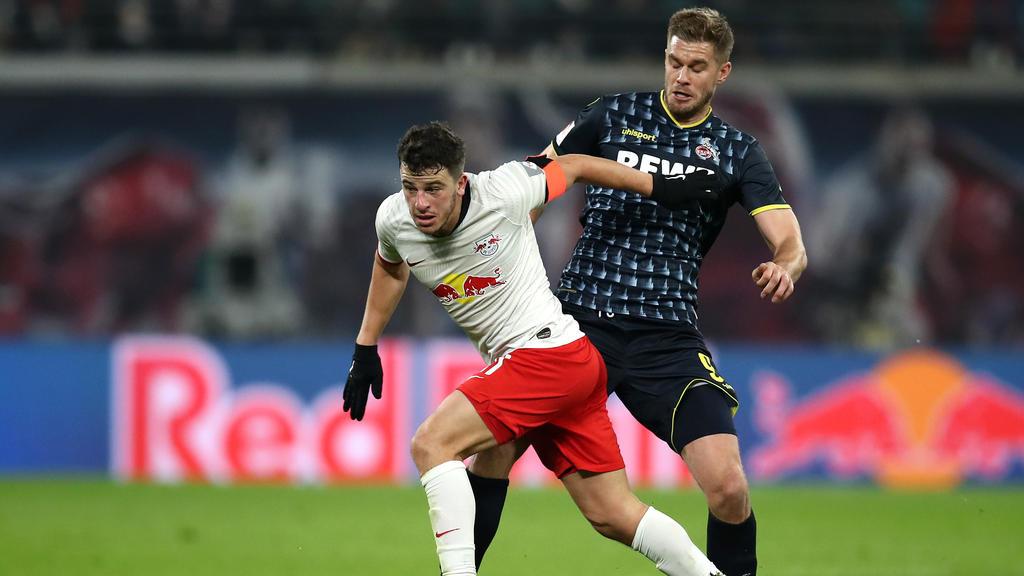 Diego Demme (l.) hat sich bei RB Leipzig zurück ins Rampenlicht gekämpft