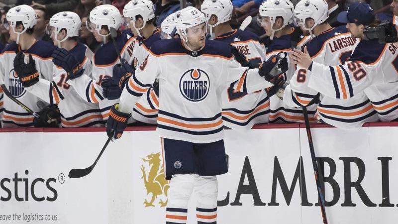 Matchwinner beim 3:2-Sieg der Edmonton Oilers bei den Vancouver Canucks: Leon Draisaitl