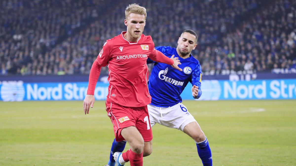 Wechselt wohl nicht zum FC Schalke 04: Sebastian Andersson von Union Berlin