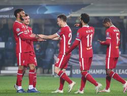 Liverpool hatte auswärts gegen Atalanta keine Probleme