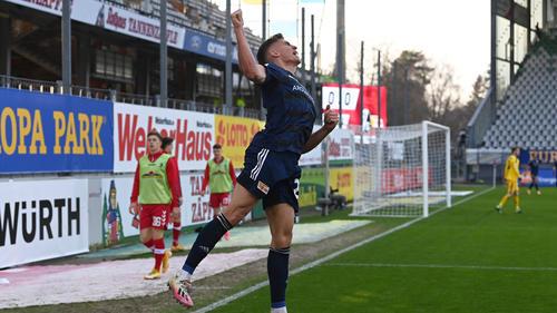 Grischa Prömel traf für den 1. FC Union Berlin