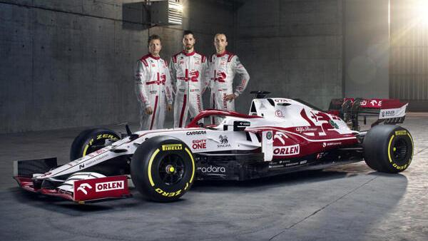 Alfa Romeo geht mit dem C41 in die neue Formel-1-Saison