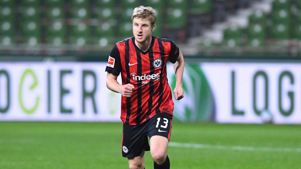 Hat wieder am Mannschaftstraining teilgenommen: Martin Hinteregger von Eintracht Frankfurt