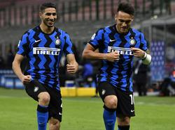 Inter jubelt über den nächsten Sieg