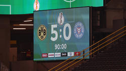Der BVB ließ Holstein Kiel im Halbfinale des DFB-Pokals keine Chance