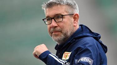 Hat mit Union Berlin noch die Chance auf die Europa League: Trainer Urs Fischer