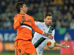 Trotz toller kämpferischen Leistung musste sich St. Gallen erneut Valencia geschlagen geben.
