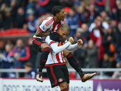 El Sunderland deja muy tocado al United de Louis van Gaal. (Foto: Getty)