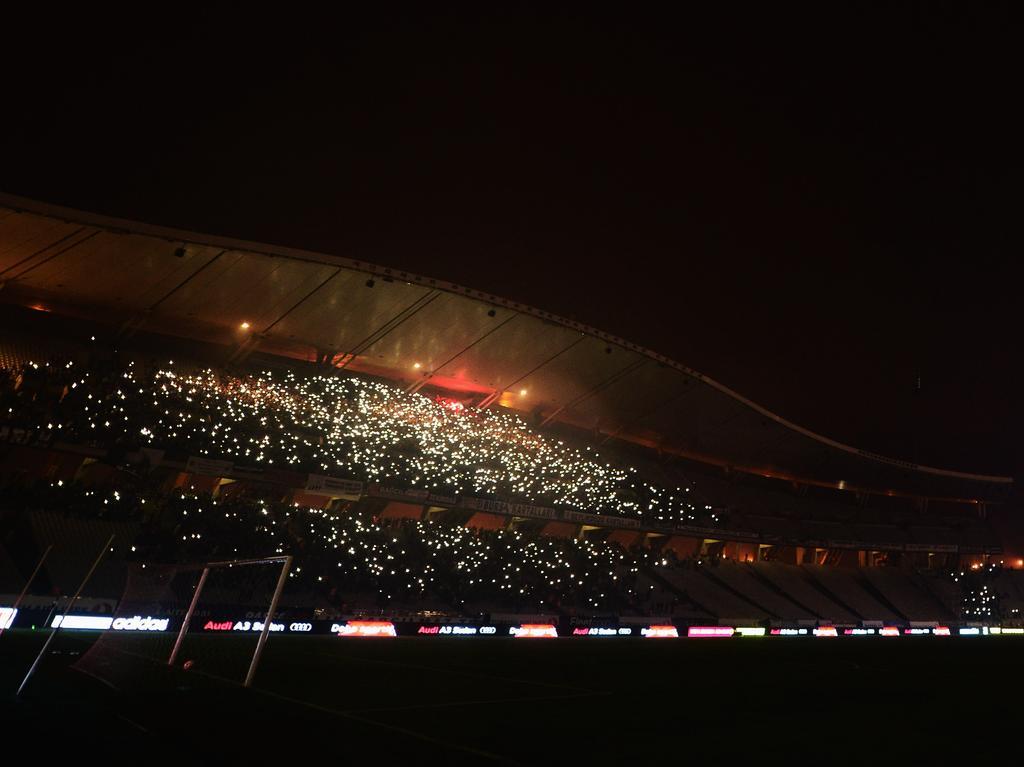 Imágenes del Estadio Ataturk en Estambul.