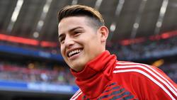 James spielt wohl auch in der kommenden Saison beim FC Bayern