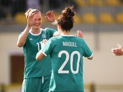 Die DFB-Frauen behielten auch gegen Slowenien die Oberhand