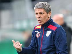 St.Pölten-Coach Kühbauer hofft auf die Trendwende