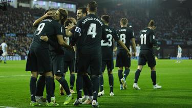 Benzema lideró al Real Madrid en Vigo con un doblete. (Foto: Getty)