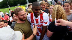 Fanliebling in Köln: Anthony Modeste
