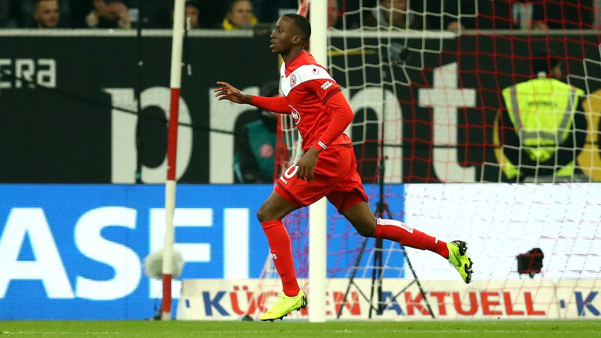 Dodi Lukebakio erzielte in dieser Saison schon achte Treffer