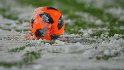 Das Spiel in Zwickau fiel den winterlichen Bedingungen zum Opfer