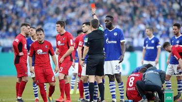 Schalkes Serdar sah die Rote Karte