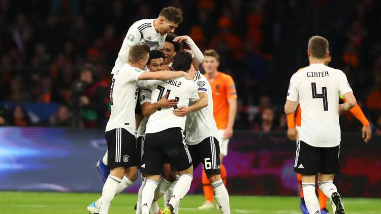 Jubelstürme beim deutschen Team